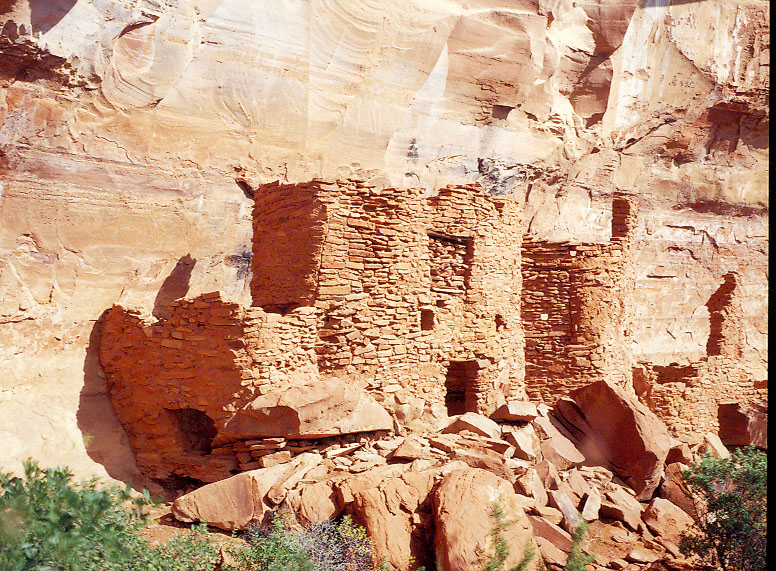 Native American ruins outside Sedona, AZ.